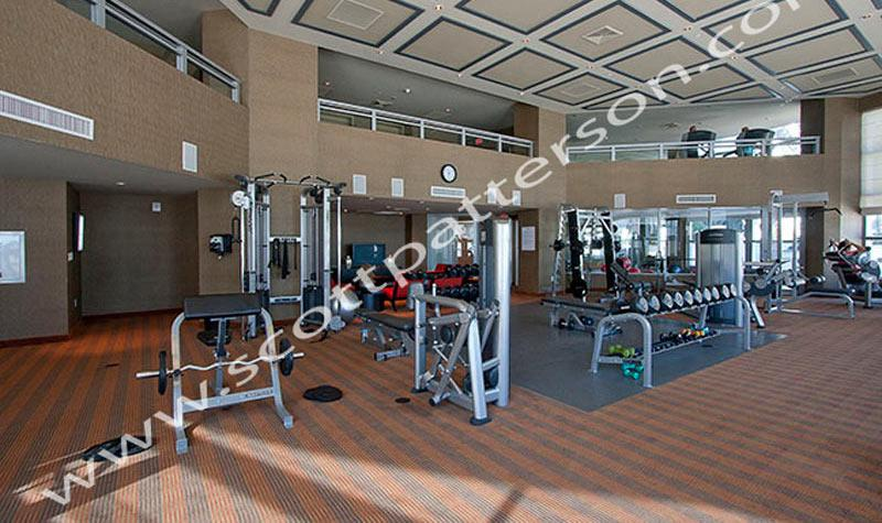 Ocean Palms Hollywood Florida Luxury Condo Fitness Center