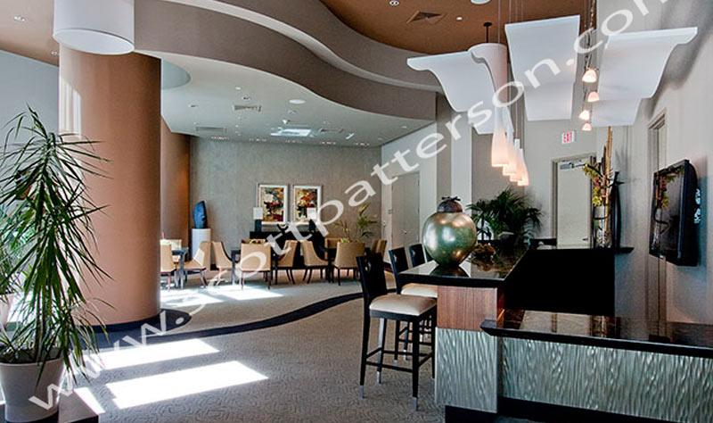 Ocean Palms Hollywood Florida Luxury Condo Sitting Area