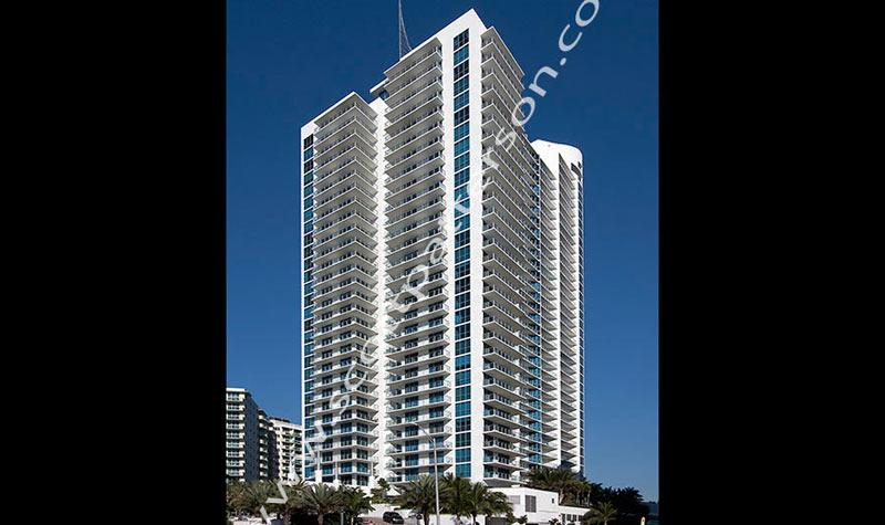 Ocean Palms Hollywood Florida Luxury Condo Street View
