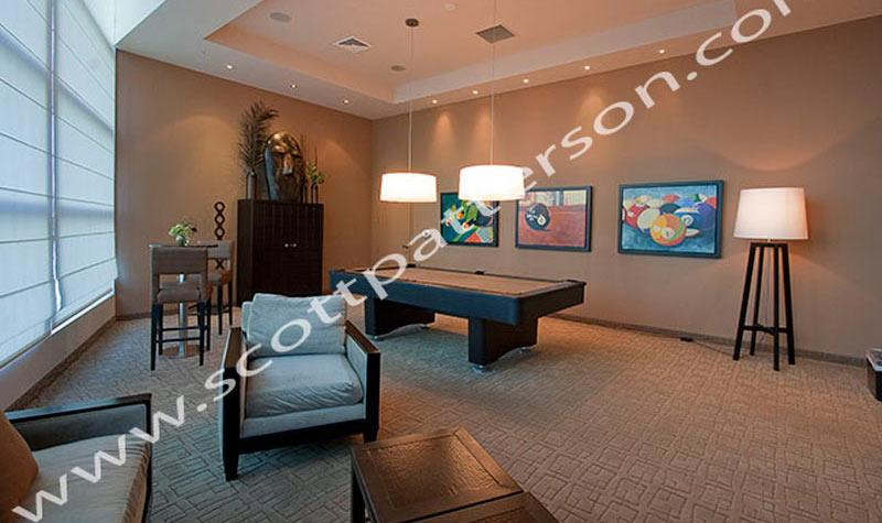 Ocean Palms Hollywood Florida Luxury Condo Game Room
